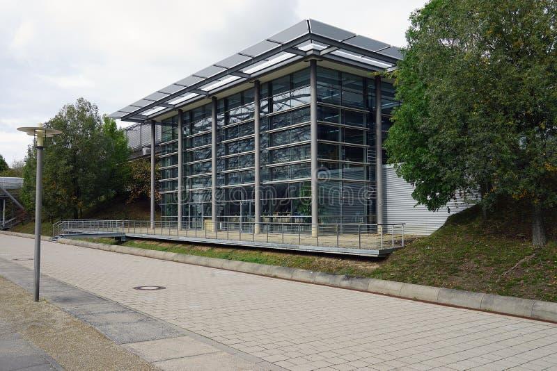 La ciudad Stadt Leipzig Alemania Deutschland de Messe del comercio justo fotografía de archivo