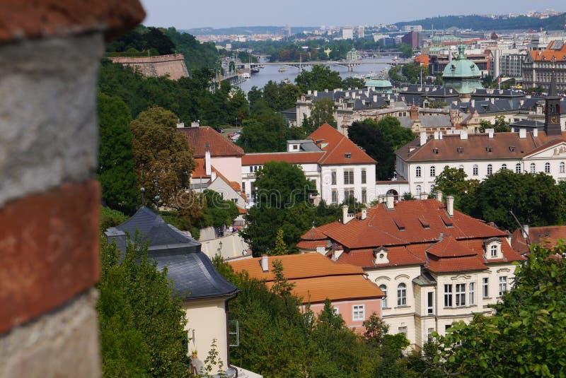 La ciudad vieja foto de archivo
