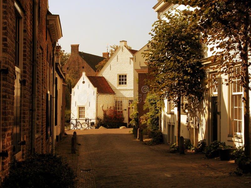 La ciudad vieja de Amersfoort fotografía de archivo libre de regalías