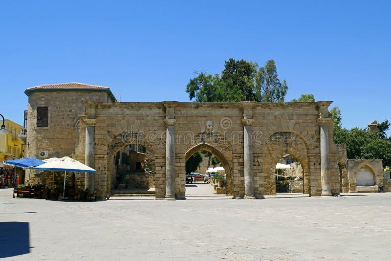 La ciudad vieja de Famagusta, Chipre septentrional imagen de archivo libre de regalías