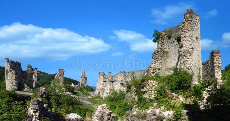 La ciudad vieja de Samobor fotografía de archivo