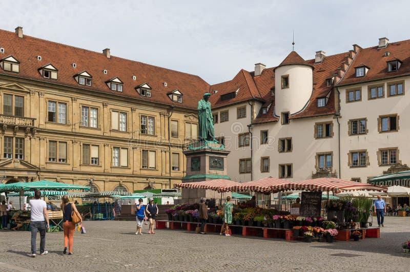 La ciudad vieja de Stuttgart alemania fotografía de archivo libre de regalías