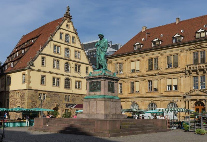La ciudad vieja de Stuttgart alemania fotos de archivo