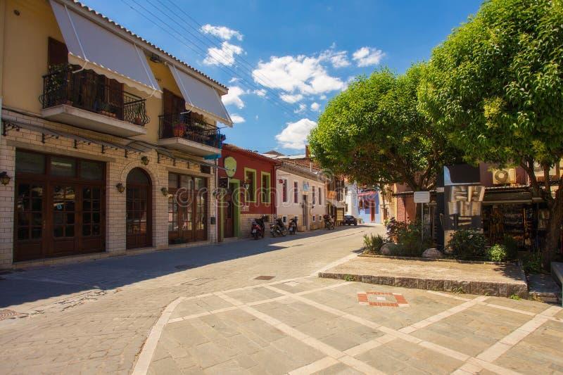 La ciudad vieja en Ioannina, Grecia fotos de archivo libres de regalías