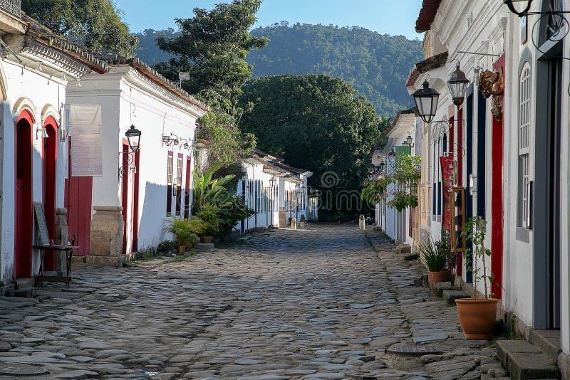 La ciudad vieja y su arquitectura de la calle imagen de archivo