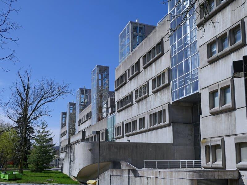 La clinica universitaria del McMaster University immagine stock