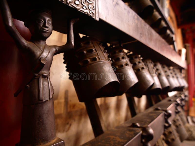La cloche antique de tresse image libre de droits