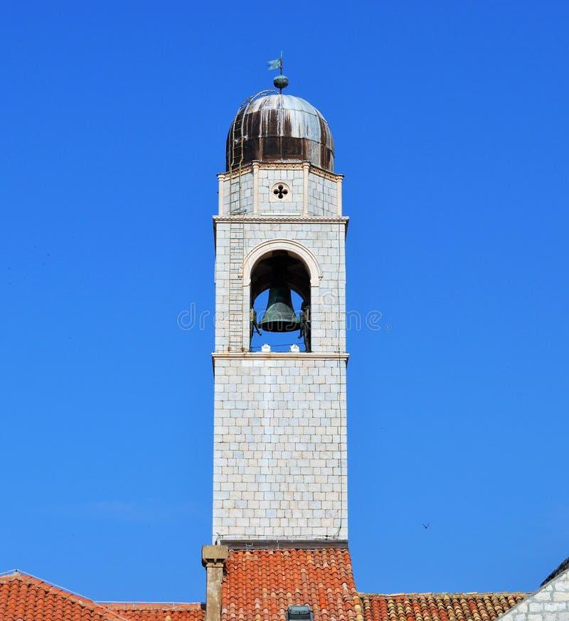 La cloche dans la tour images libres de droits