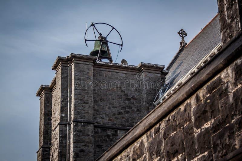 La cloche de l'église de Castlebar image libre de droits
