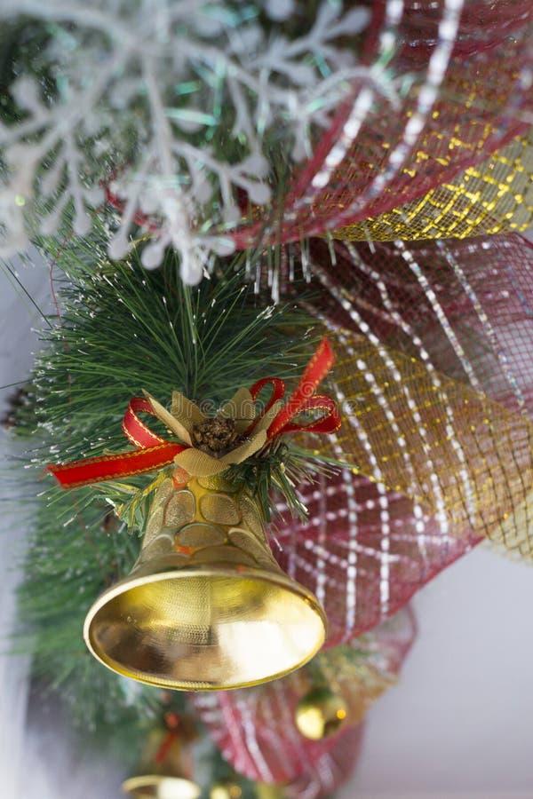 La clochette de nouvelle année images stock