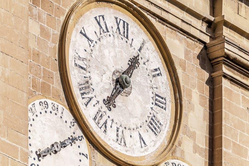 La Co-Cathédrale de St John à La Valette, Malte images libres de droits