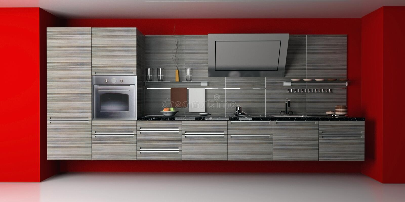 La cocina moderna libre illustration