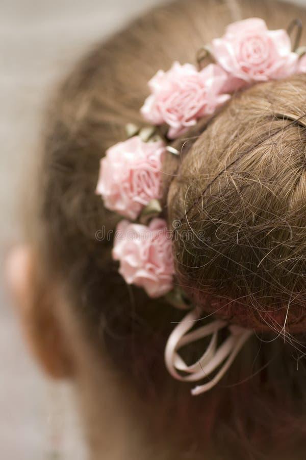 La coiffure de la ballerine image stock