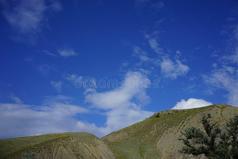 La colina del origen volcánico fotos de archivo libres de regalías