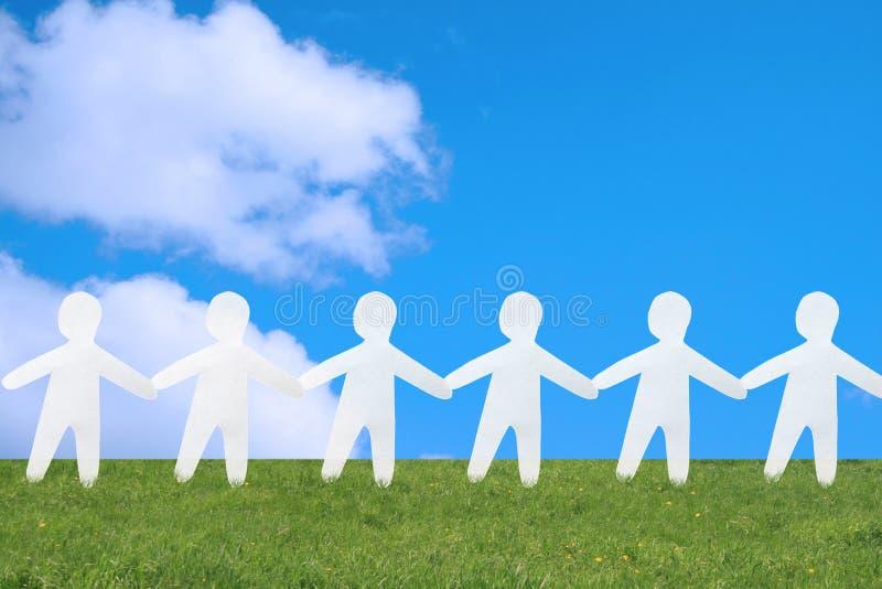 La collettività radunata. immagini stock libere da diritti