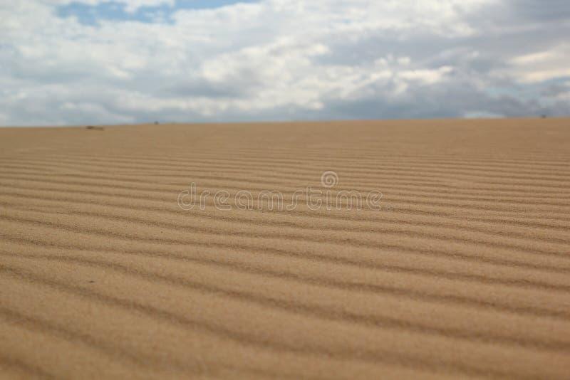 La collina della sabbia fotografia stock