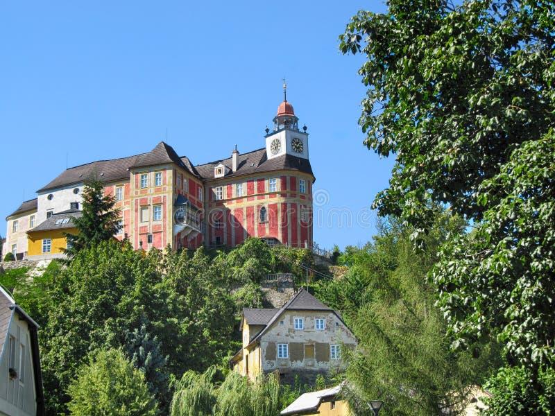 La colline de Jansky de château photo libre de droits