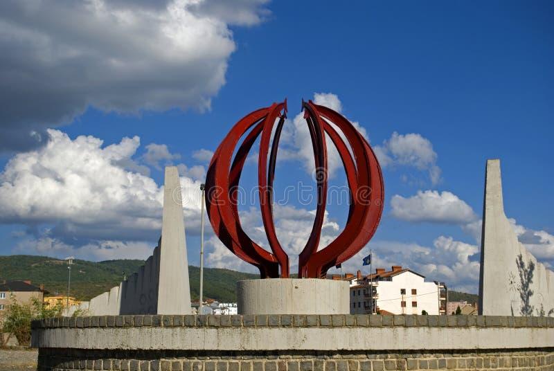 La colline des martyres, Pristina, Kosovo photo libre de droits