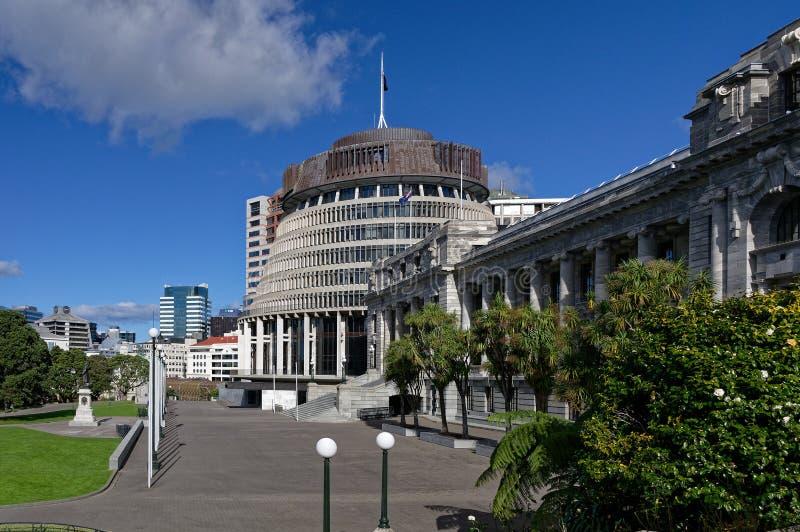 La colmena, el asiento del poder en Nueva Zelanda foto de archivo