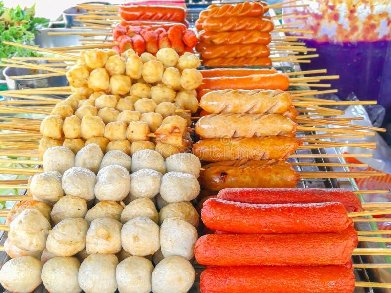 La comida, alb?ndiga, saca la comida, Asia, barbacoa imagen de archivo libre de regalías