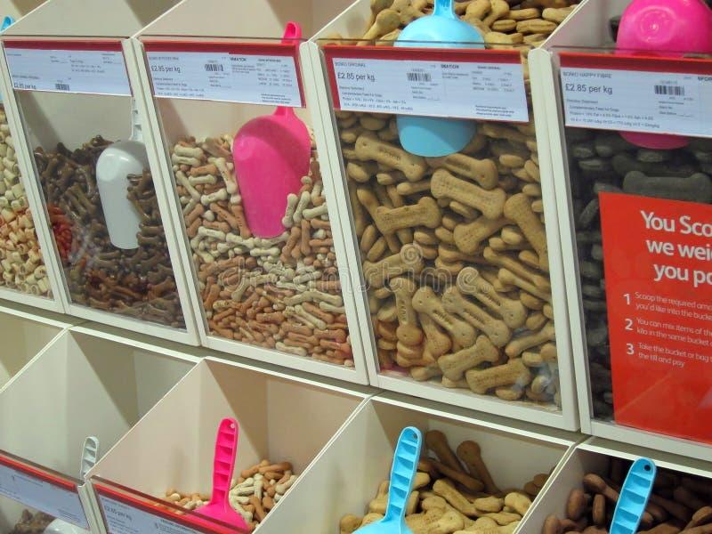 La comida de perro trata, tritura. fotografía de archivo libre de regalías