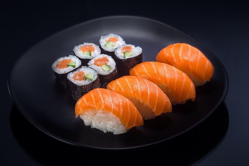 La comida japonesa hace callar foto de archivo libre de regalías