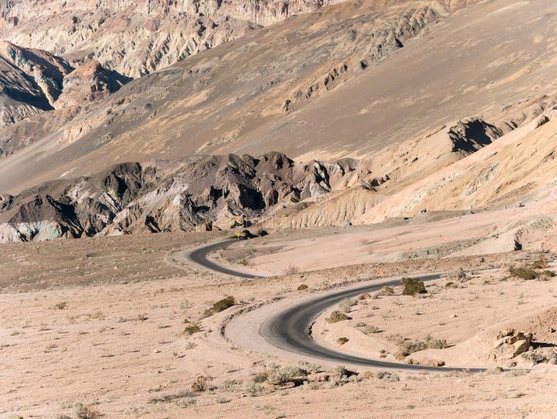 La commande de l'artiste, Death Valley photographie stock libre de droits