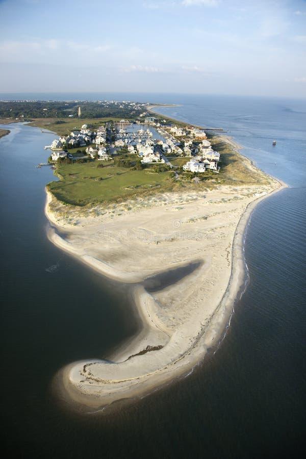 La communauté de plage. photo libre de droits