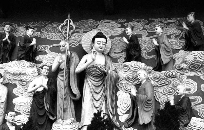La compasión y el mana ilimitado de Buda foto de archivo