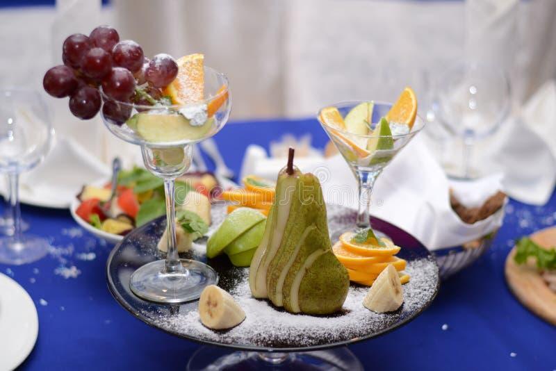 La composition des fruits image stock