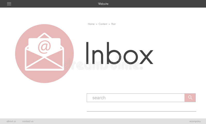 La comunicación en línea de la charla del blog del mensaje envuelve el icono gráfico concentrado ilustración del vector
