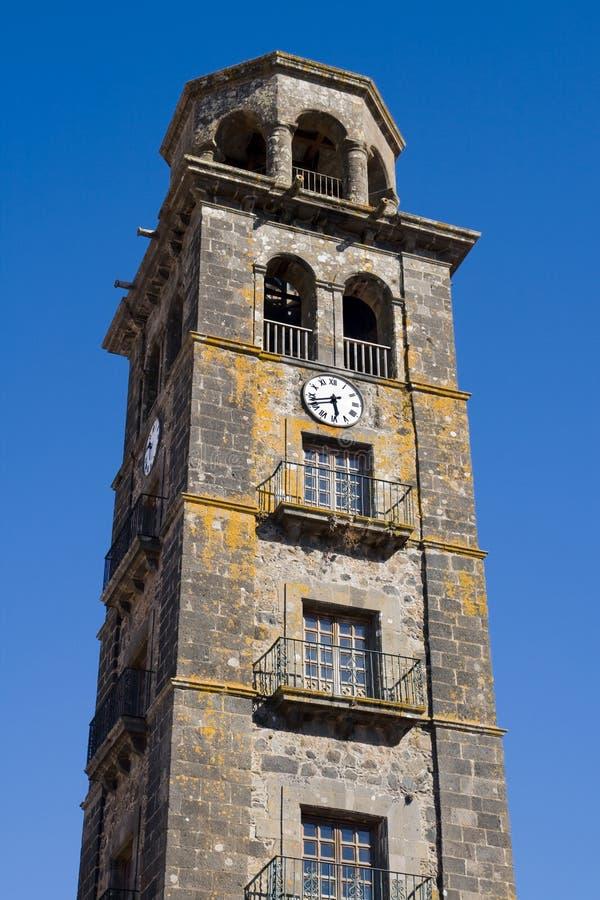 La Concepcion钟楼  免版税库存照片