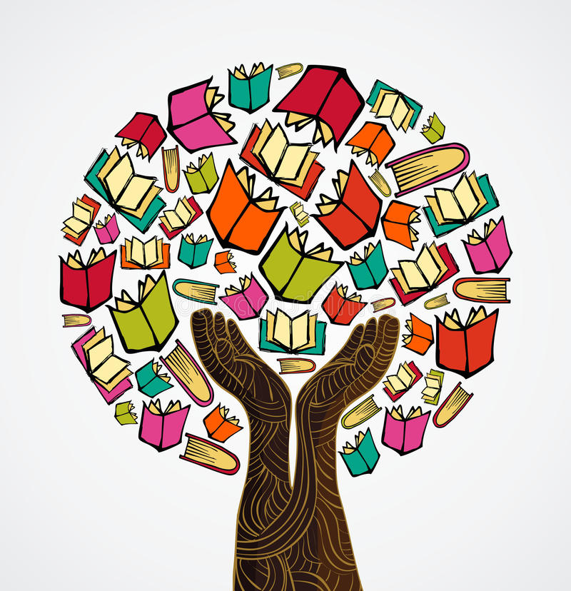 La conception de l'avant-projet réserve l'arbre illustration libre de droits