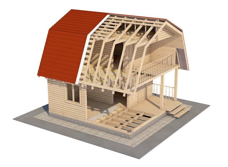 La conception de la maison image libre de droits