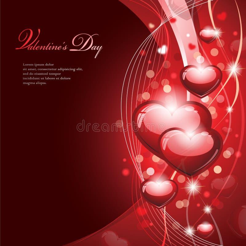 La conception de Valentine illustration de vecteur