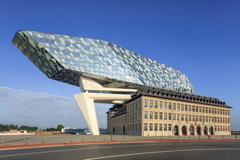 La conception de zaha hadid port d 39 anvers si ge l 39 aube anvers belgique photographie - Port d anvers belgique adresse ...
