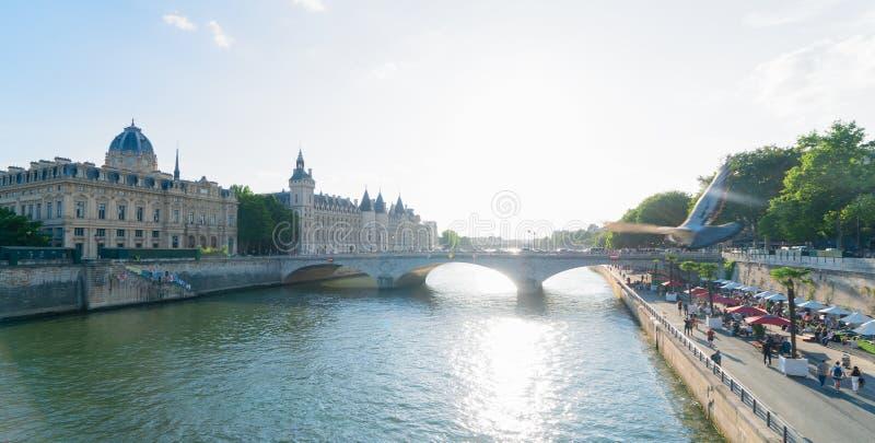 La Conciergerie, Parijs, Frankrijk royalty-vrije stock afbeelding