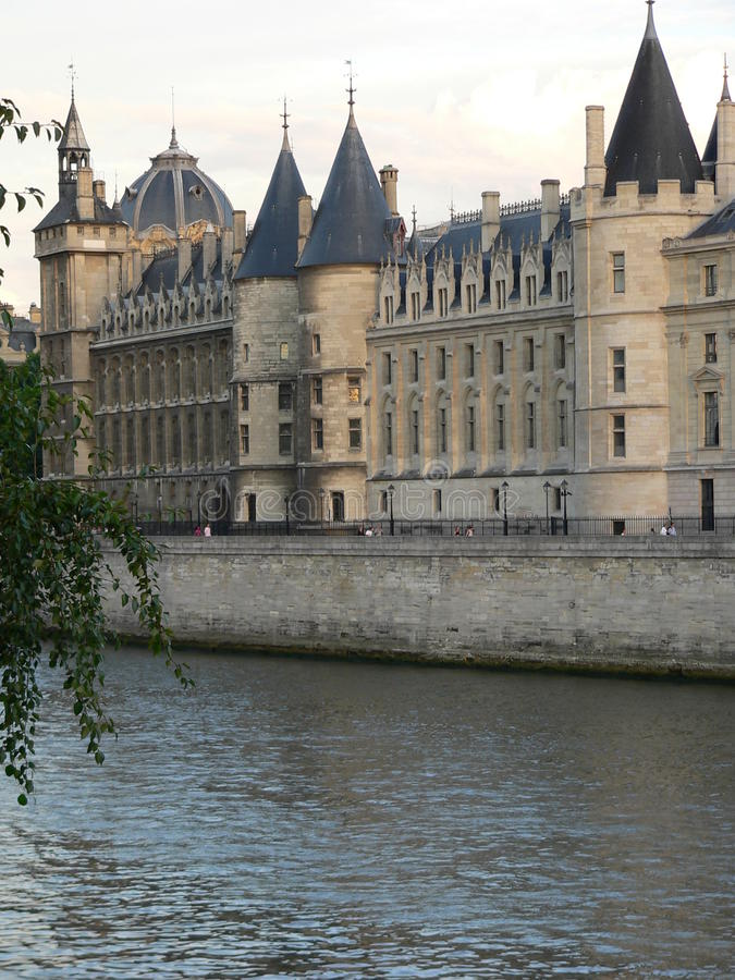 La Conciergerie. Paris arkivfoto