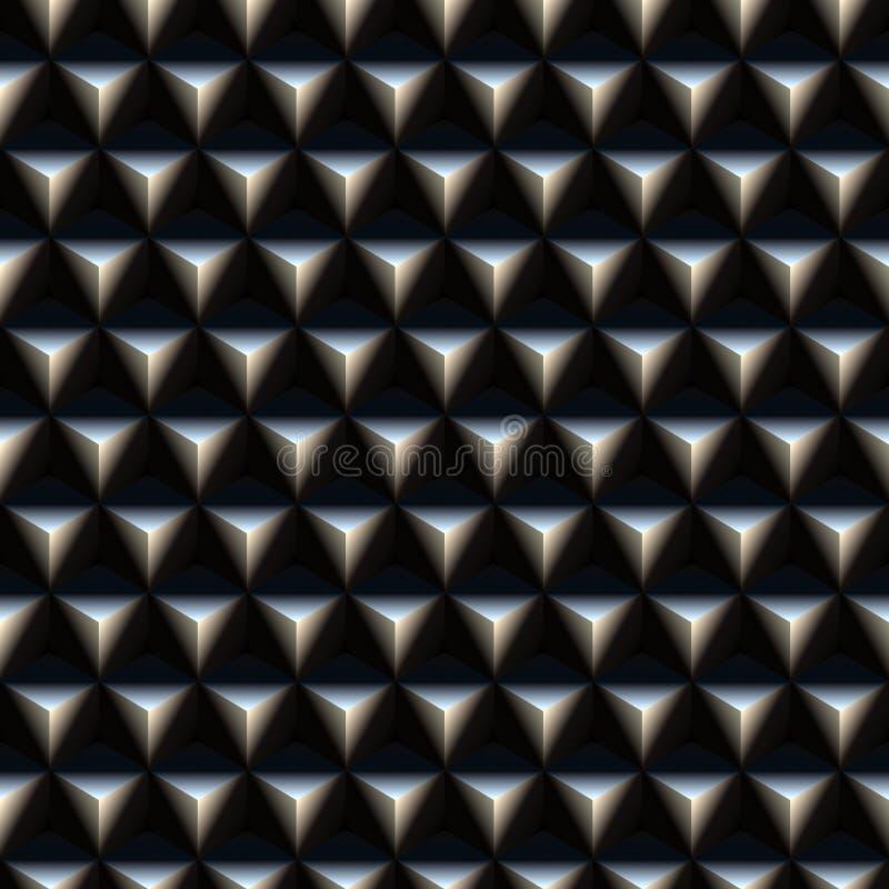 la configuration cloue la triangle illustration de vecteur