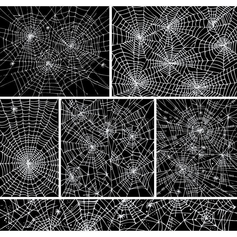 La configuration de fond de Web a placé I illustration de vecteur