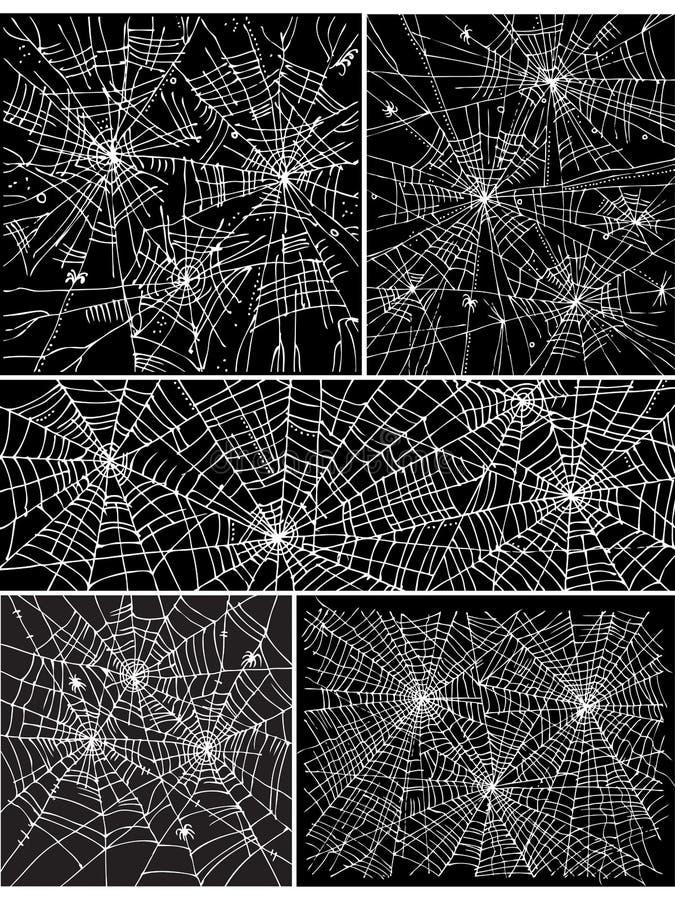 La configuration de fond de Web a placé II illustration stock
