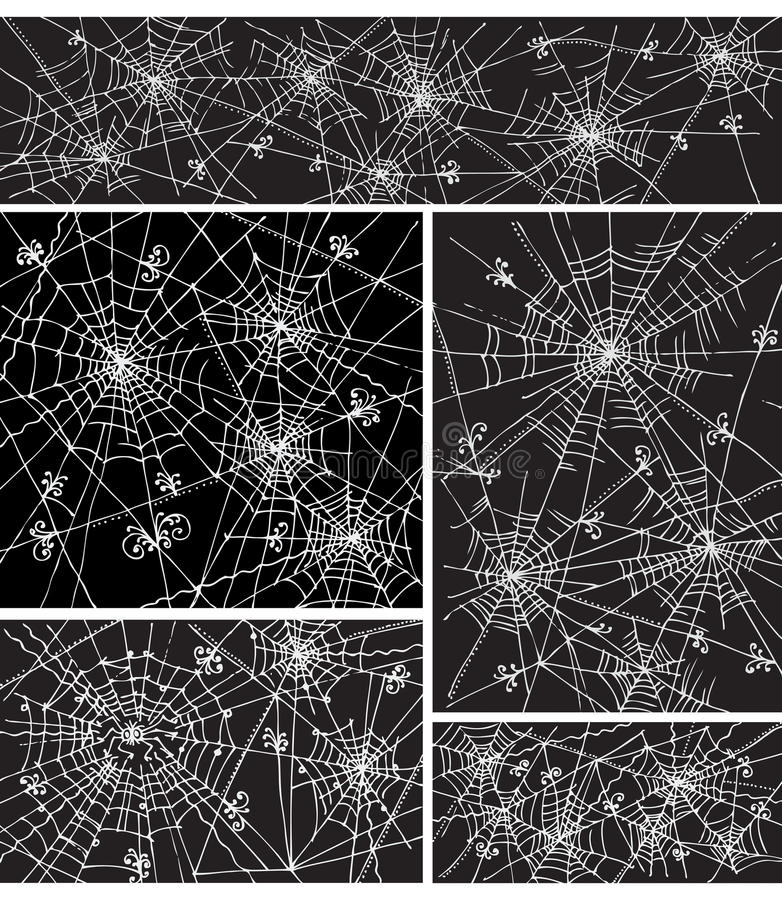La configuration de fond de Web a placé IV illustration libre de droits