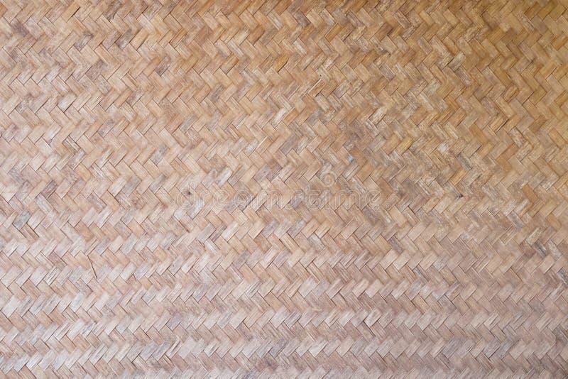 La configuration et la conception du bambou thaï de type handcraft image libre de droits