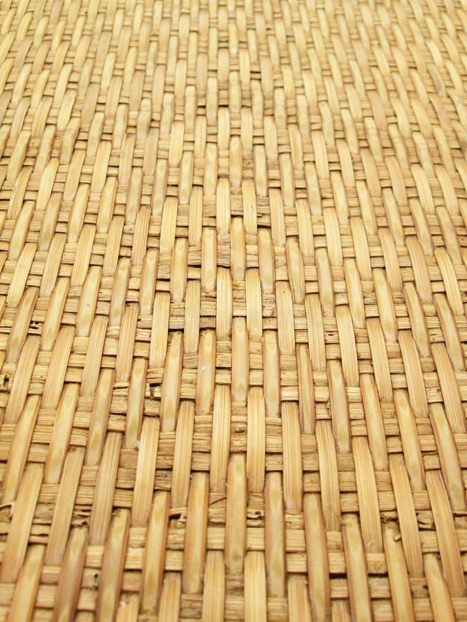 La configuration et la conception du bambou thaï de type handcraft photographie stock libre de droits