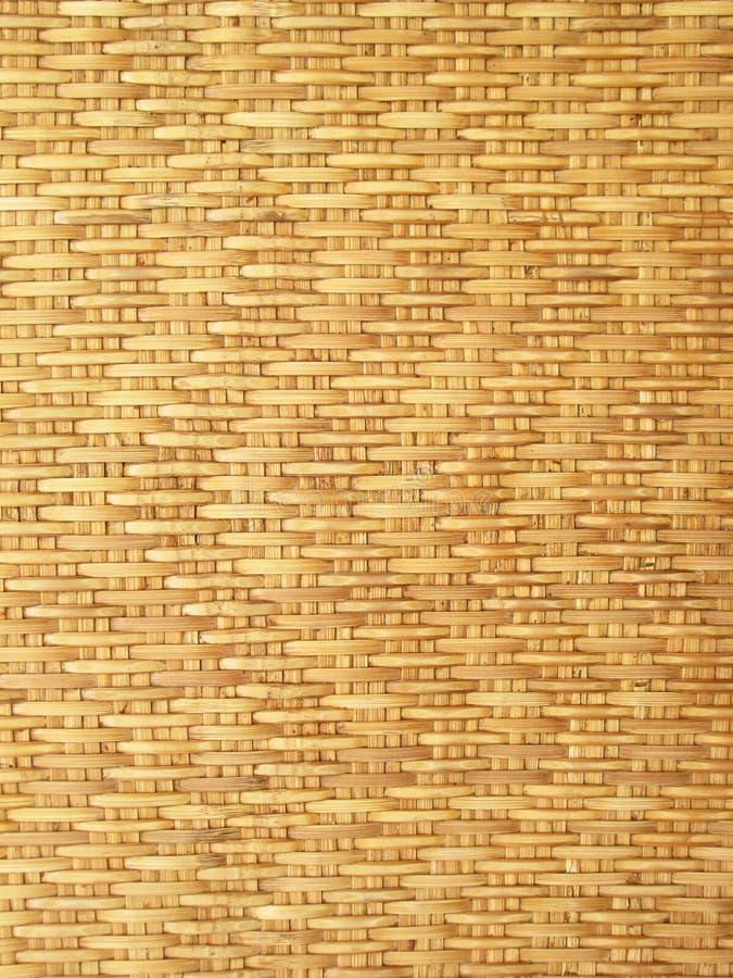 La configuration et la conception du bambou thaï de type handcraft photos stock
