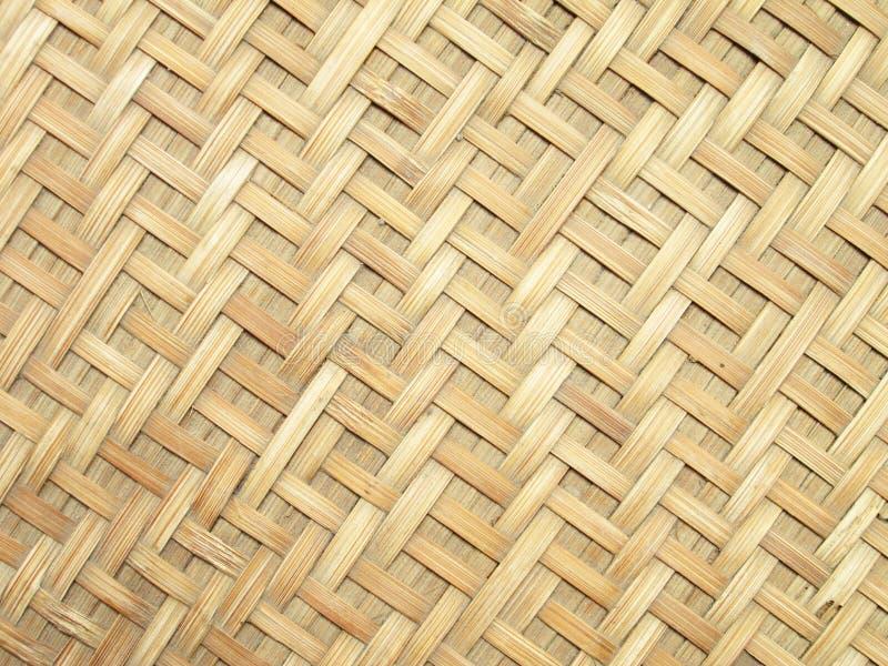 La configuration et la conception du bambou thaï de type handcraft photo libre de droits