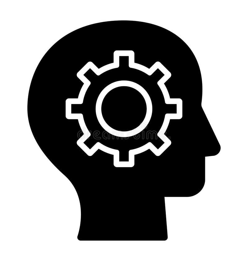 La confusi?n del documento aisl? el icono del vector que puede modificarse o corregir f?cilmente libre illustration