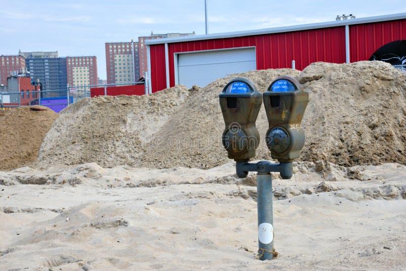 La conséquence de Sandy d'ouragan photographie stock libre de droits