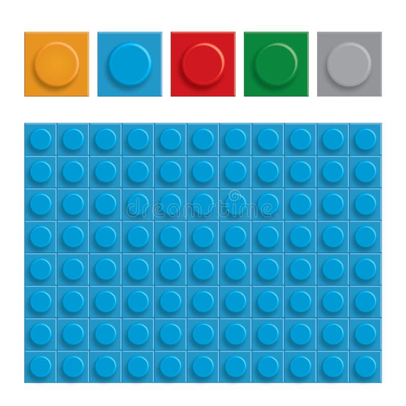 La construcción abstracta bloquea el fondo, gráfico de vector stock de ilustración