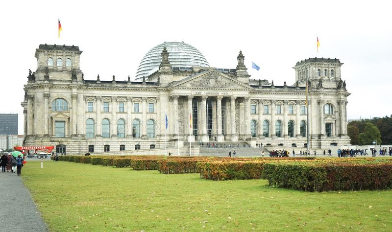 La construction de Reichstag image stock